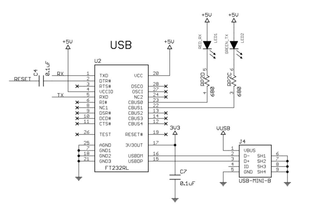 AtMega PCB Board